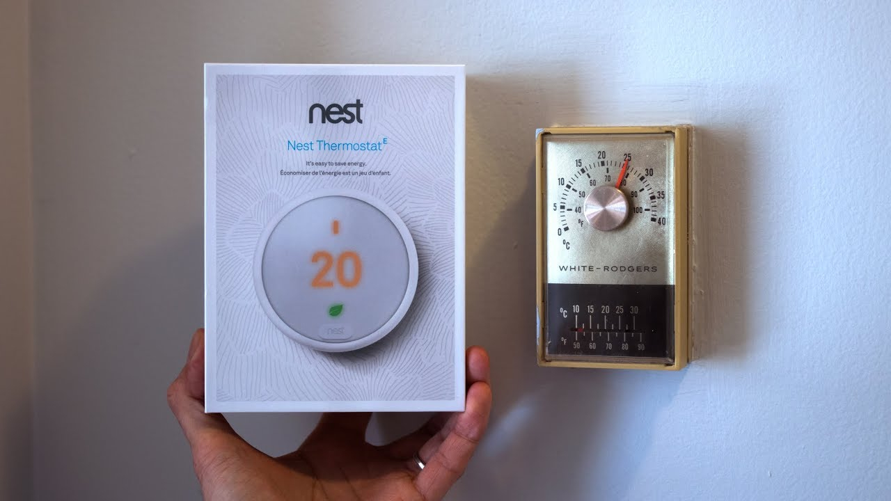 Nest Thermostat E Install (Replacing Old 2 Wire Thermostat) - Check Video  Description - Wiring Diagram Nest Thermostat E With E Wire