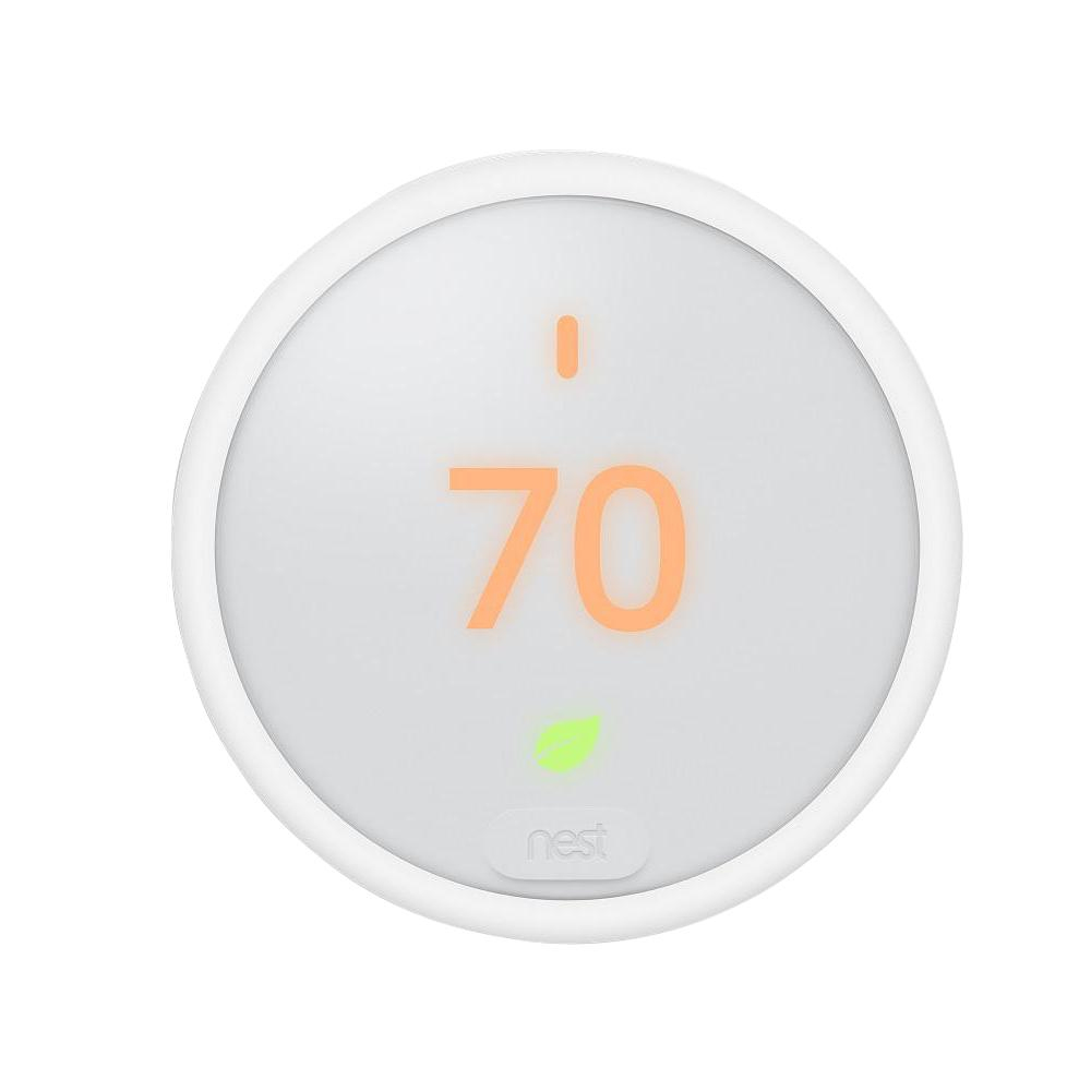 Nest Thermostat E Smart Wi-Fi Programmable Thermostat, White-T4000Es - Nest T4000Es Wiring Diagram