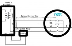 Nest Thermostat Humidifier Wiring Diagram For Gen With Or Diagra – Nest Humidifier Wiring Diagram