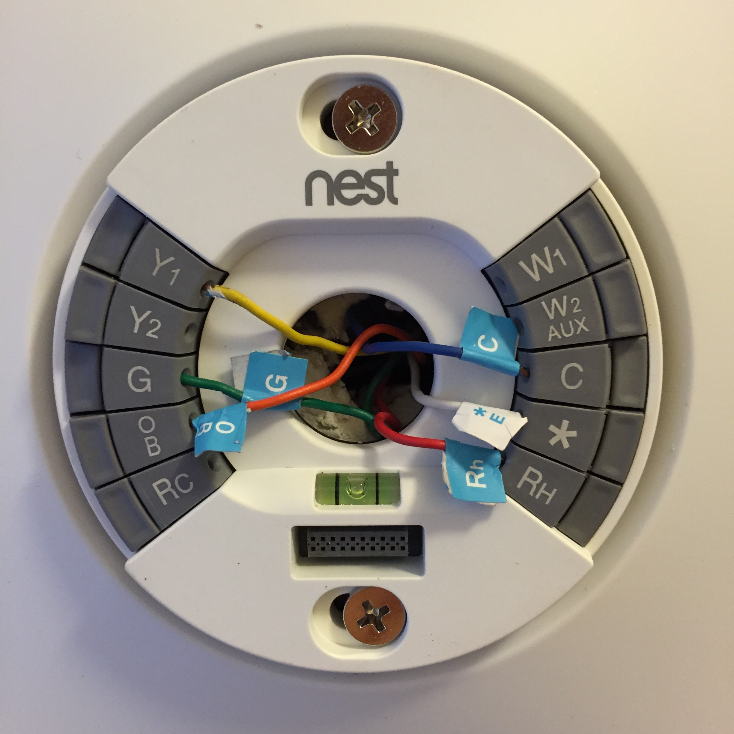 Nest Thermostat - Nest Wiring Diagram Us Fl