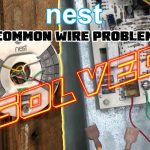 Nest Thermostat No Common Wire  Problem Solved  How To Install Nest   Goodman Furnace Thermostat Wiring Diagram Nest