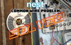 "Nest Thermostat No Common Wire- Problem Solved -How To Install Nest Missing  Common ""c"" Wire – Nest Thermostat Wiring Diagram Cooling Only"