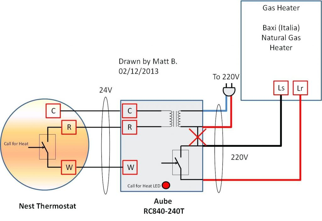 Nest Thermostat Wiring Diagram - Allove