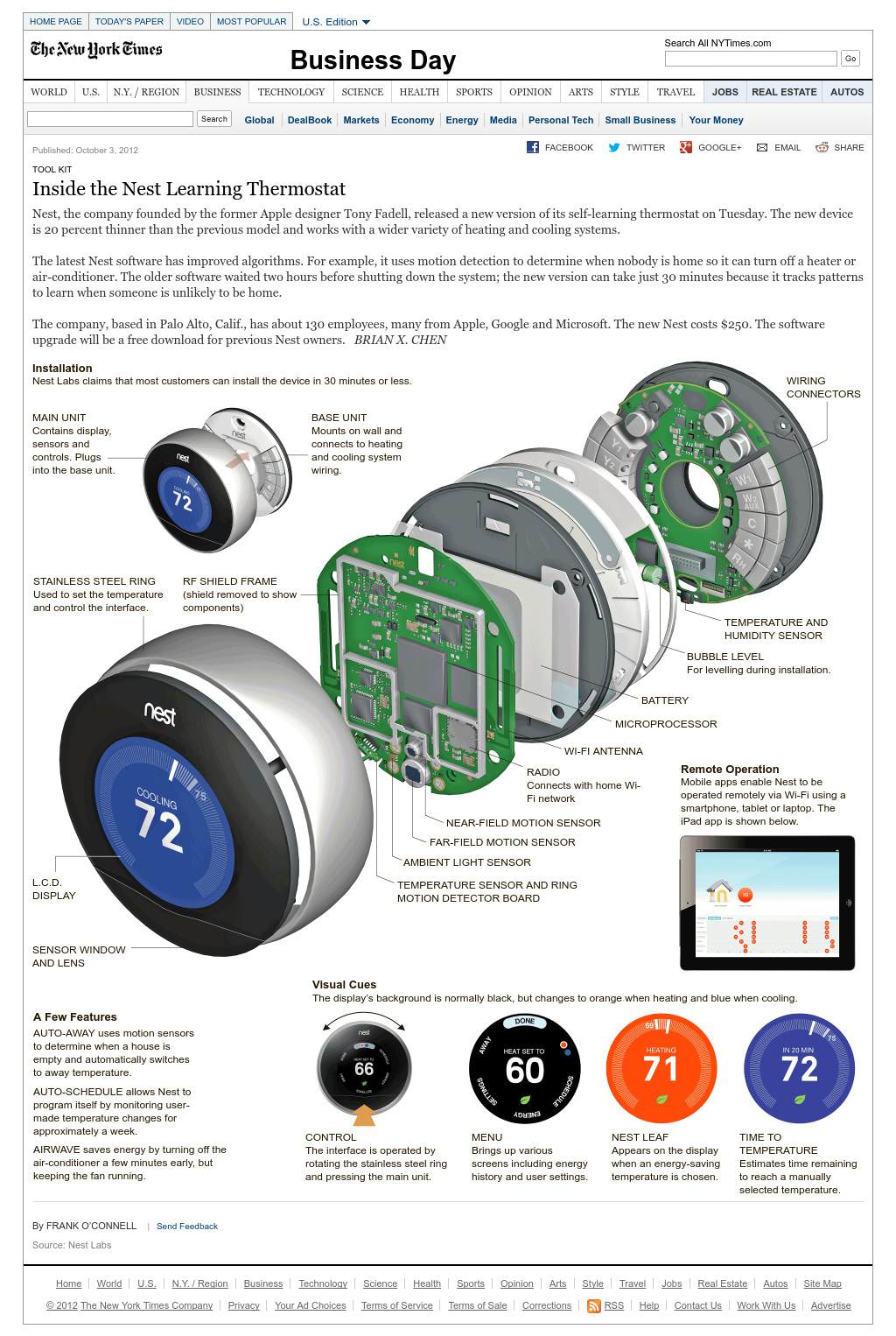 Nest Thermostat Wiring Diagram For Furnace And Air Conditioning - Nest Base Wiring Diagram