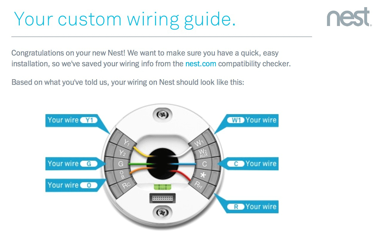 Nest Thermostat Wiring Diagram For Carrier Heat Pump