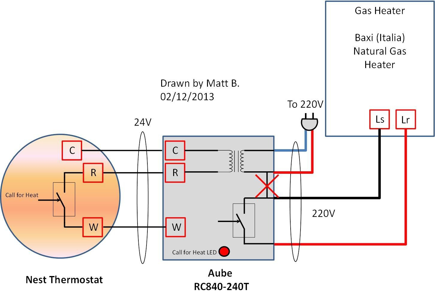 2nd Gen Nest Wiring Diagram