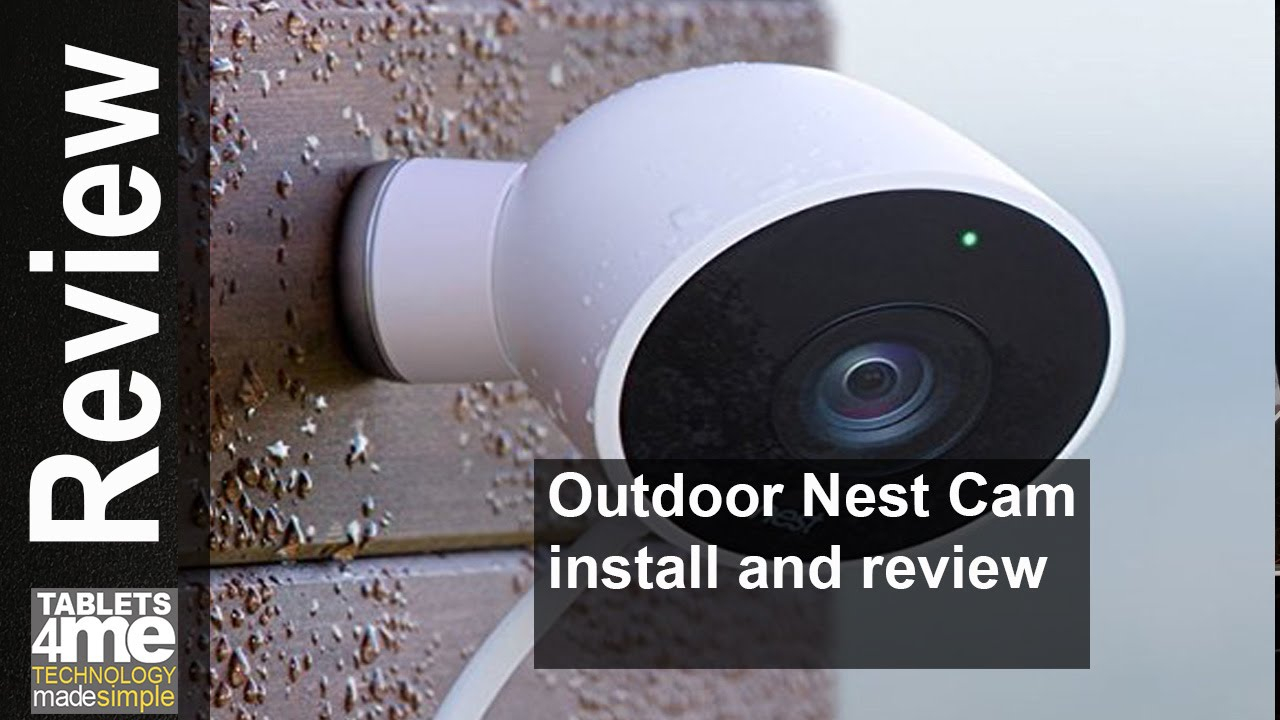 New Nest Cam Outdoor Security Camera Install, Setup And Review - Youtube - Nest Outdoor Camera Wiring Diagram