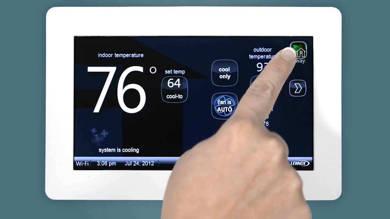 One-Touch Away Mode - Youtube - Lennox Xp21 Nest Wiring Diagram