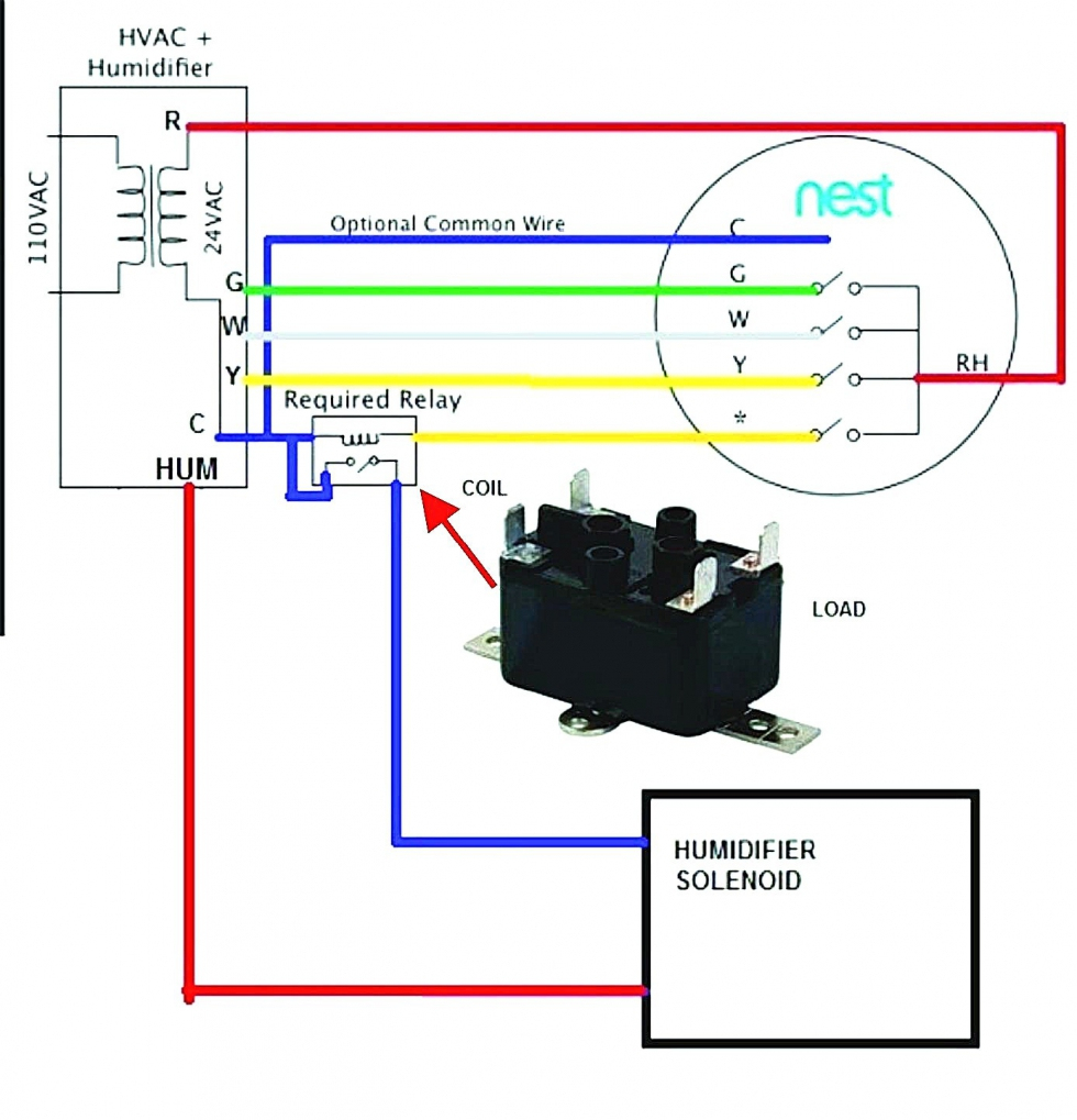Heat Pump Nest Thermostat Wiring Diagram