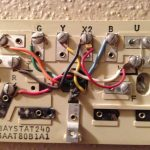 Replace The Trane Baystat 240 With Nest   Trane Baystat240 Wiring Diagram Nest