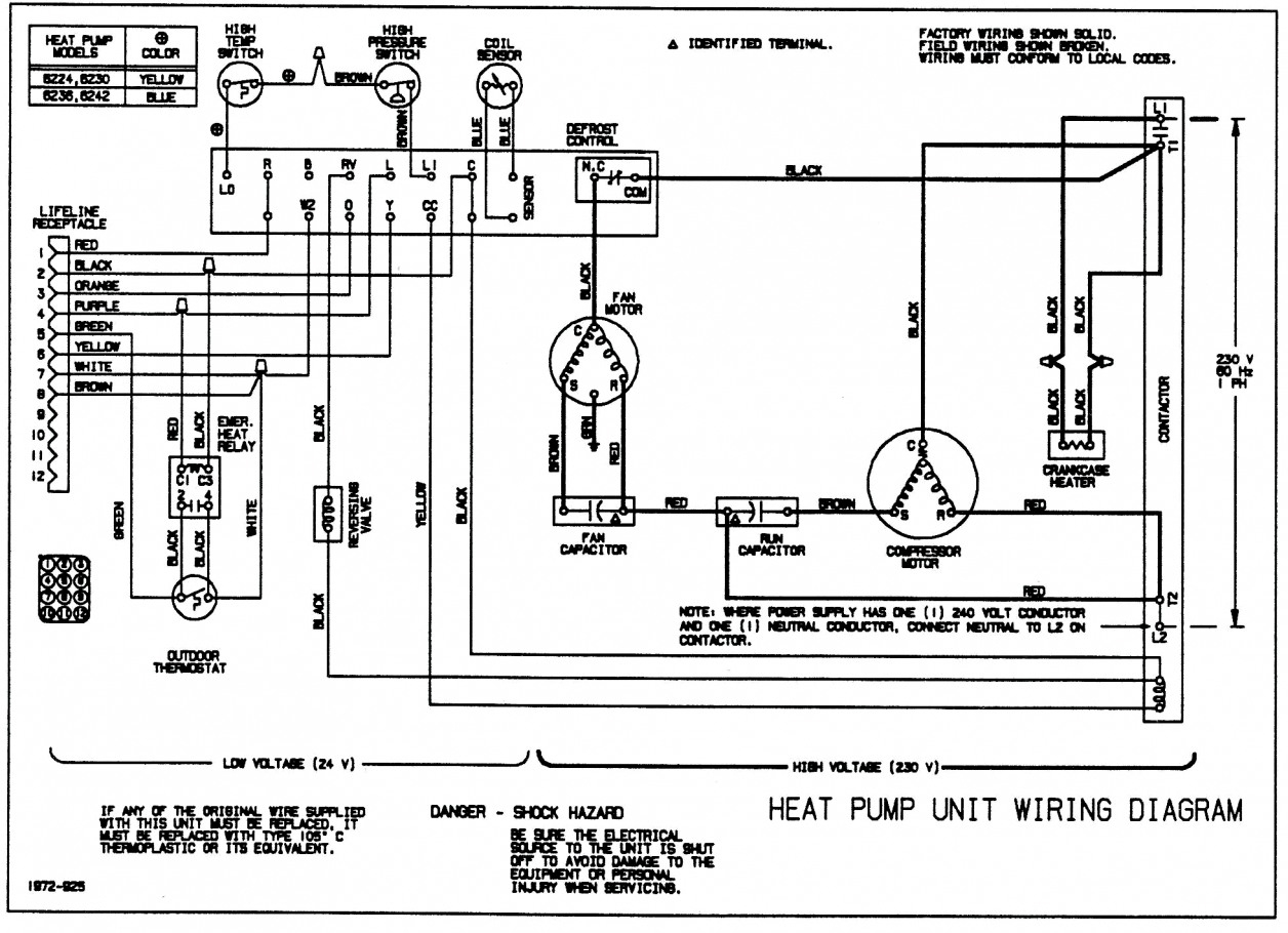 Low Voltage Wiring Heat Pump Wiring Diagram Data Val