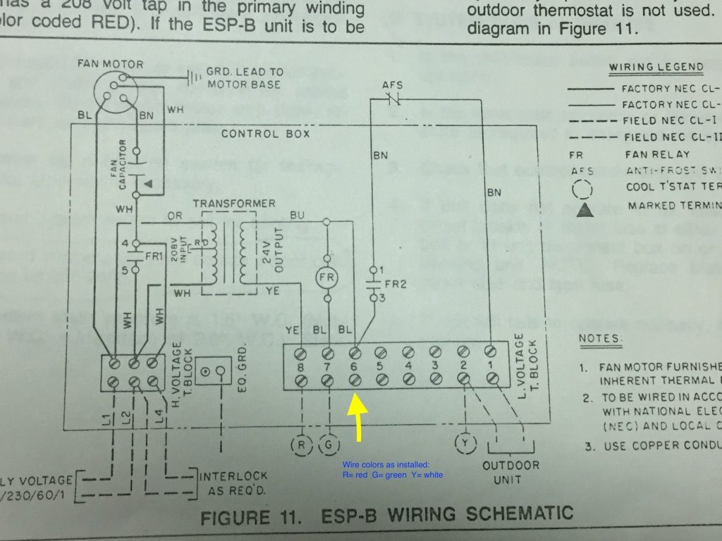 Separate Boiler And Ac  To Which Does C Wire Connect For