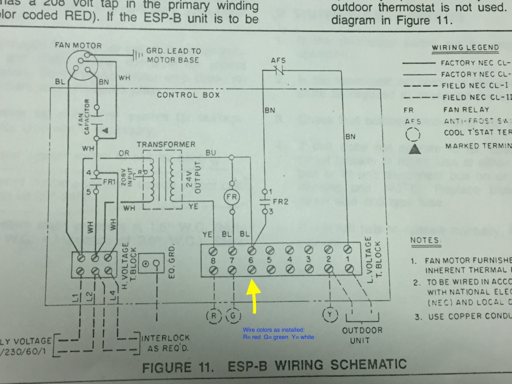 Separate Boiler And Ac, To Which Does C Wire Connect For Nest - Nest Wiring Diagram For Trane Airconditioner