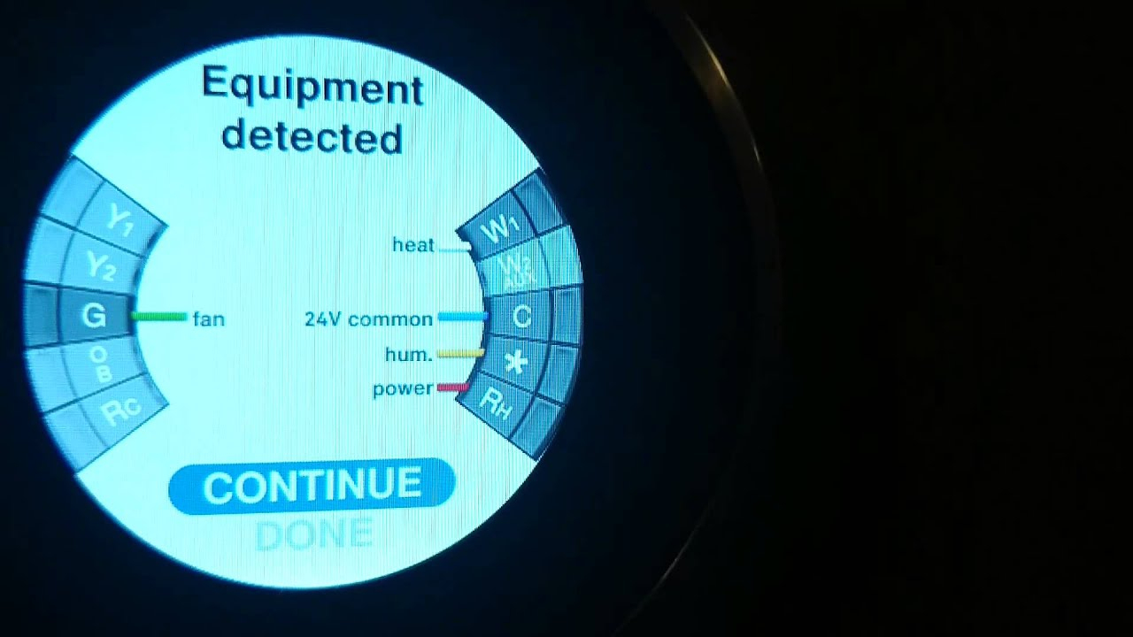 Setup Nest Thermostat Flowthrough Buypass Humidifiers - Youtube - Nest Thermostat Dehumidify Wiring Diagram