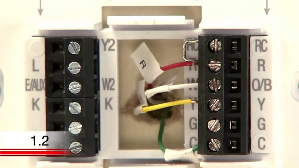 Smart Color Thermostat Honeywell Lyric Humidifier Wiring