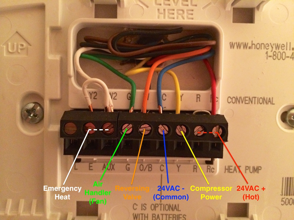 Spark Powered Thermostats: Burning Down The House, Baby! - General - Nest Heat Pump With Electric Backup Wiring Diagram