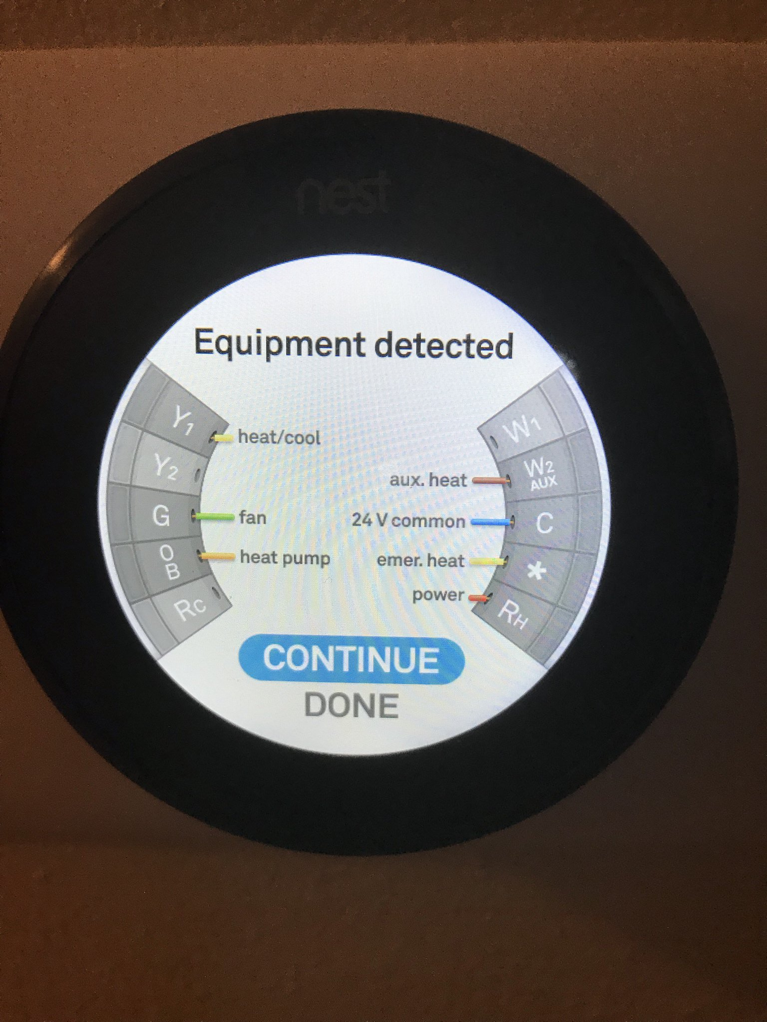 Suddenly No Ac, Just Blowing Air : Nest - Nest Wiring Diagram Fan