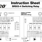 Taco 503 Switching Relay Wiring Diagram | Wiring Diagram   Taco Nest And External Transformer Wiring Diagram