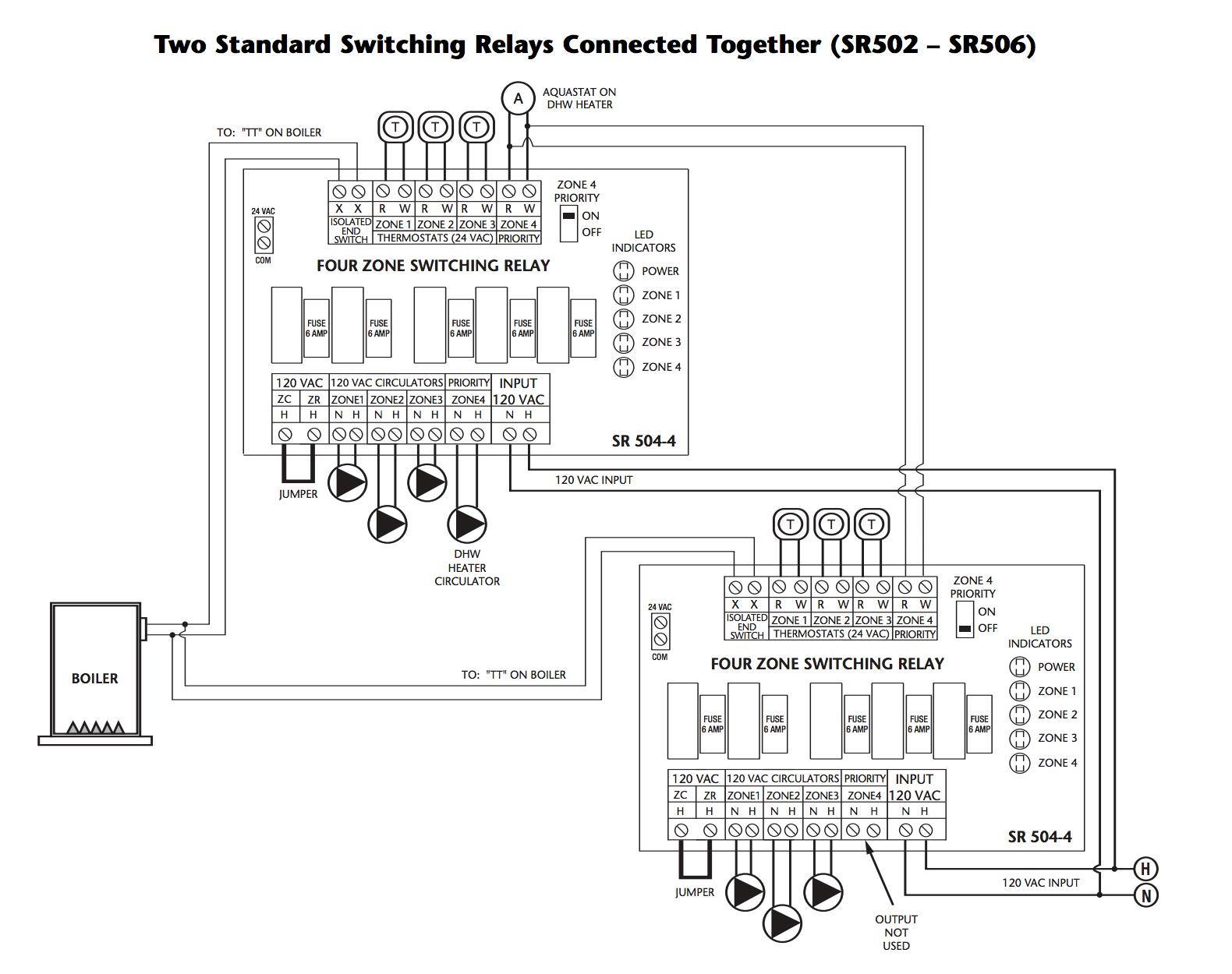 Taco Furnace Wiring - Data Wiring Diagram Today - Thermostat Wiring Diagram, Nest, Taco, Sr503-4