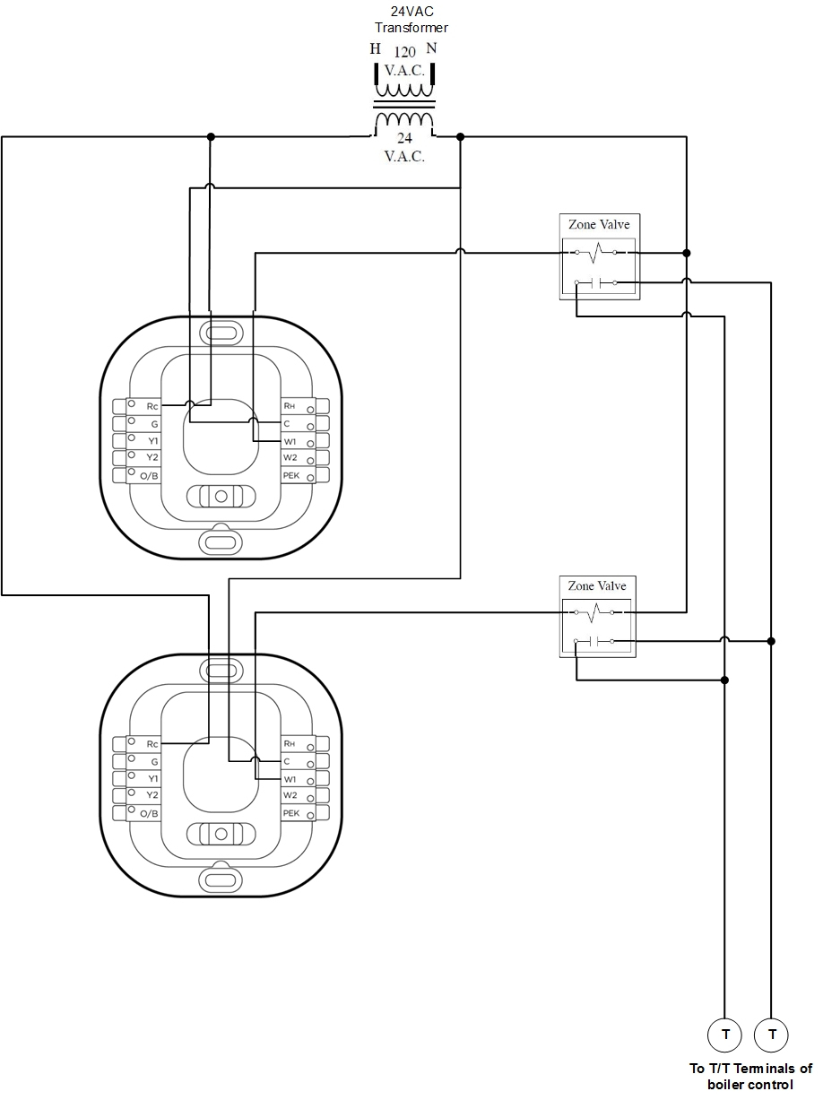 Taco Wiring Diagrams Zone Boards | Wiring Diagram - Taco Nest And External Transformer Wiring Diagram