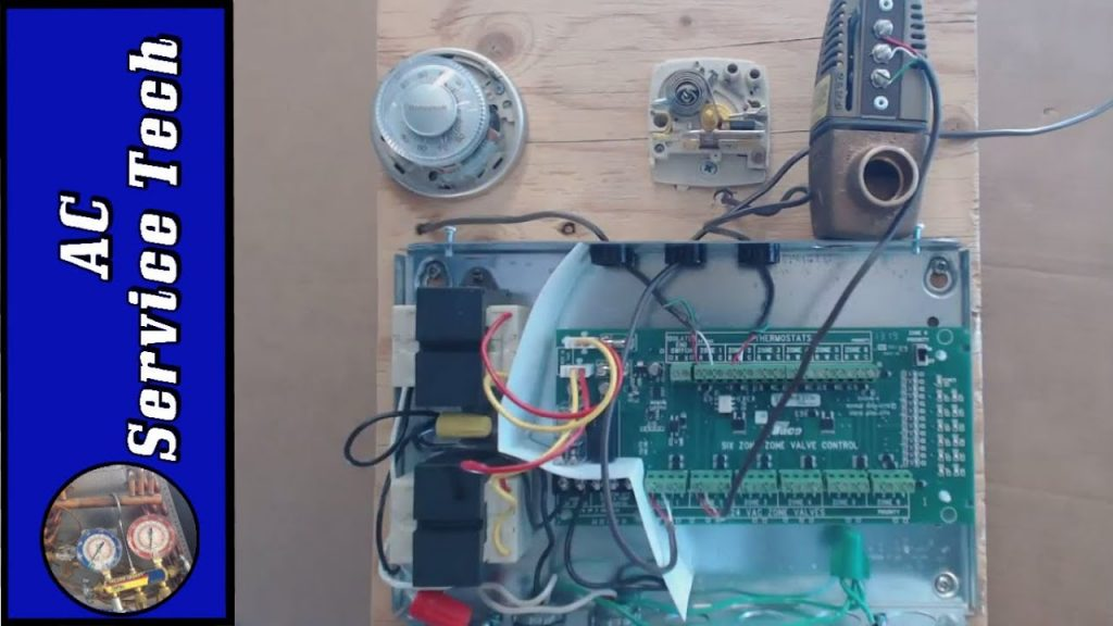Taco Zone Valve Relay Control  Explained  Thermostat Wiring  Zone