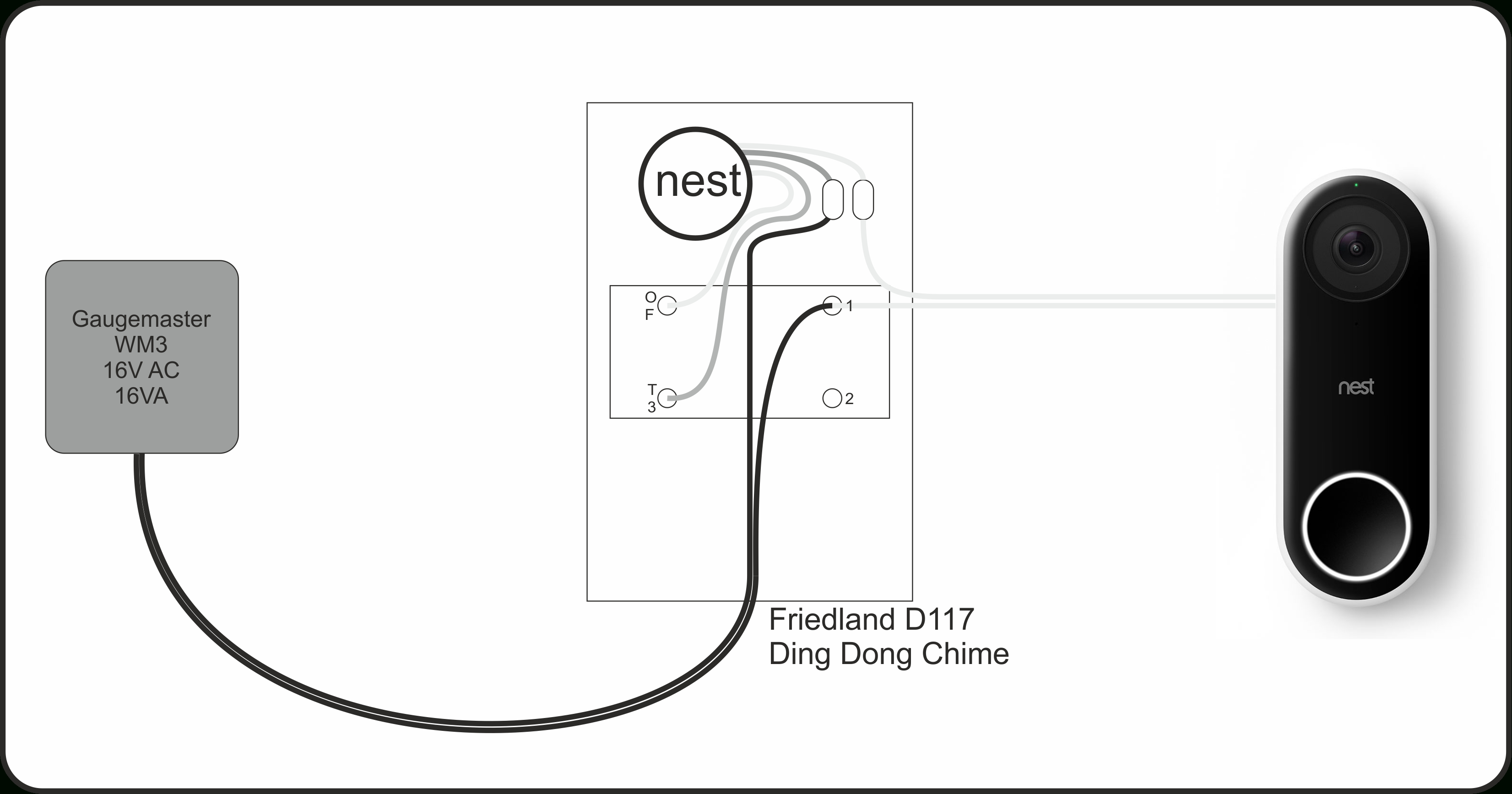 The Nest Hello Video Doorbell In The Uk | Life, The Universe And - Nest Hello Installation Wiring Diagram