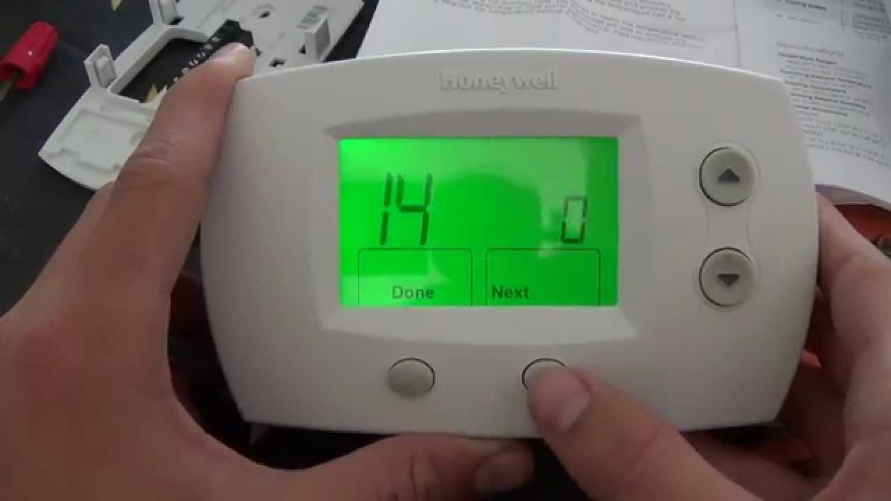 Thermostat Installation : Honeywell Focuspro 5000 - Youtube - Honeywell Th5320C1002 Wiring Diagram Nest