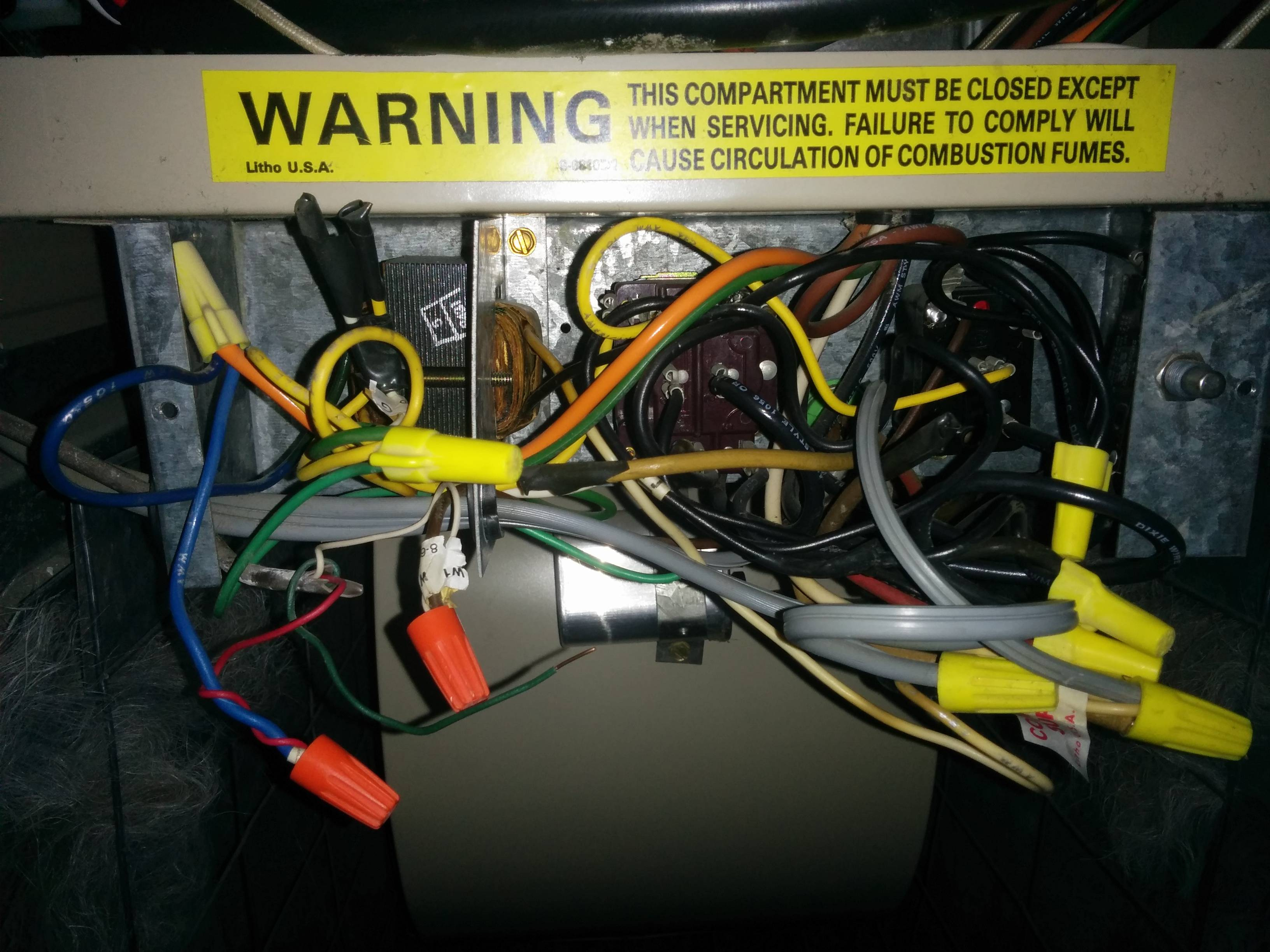 Thermostat Wire Very Old Lennox Gas Furnace With Honeywell Wiring - Nest Wiring Diagram Gas Furnace