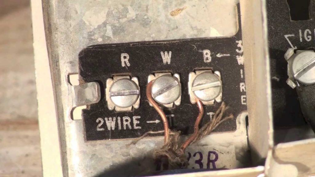Thermostat Wiring For The Oil Furnace - Youtube