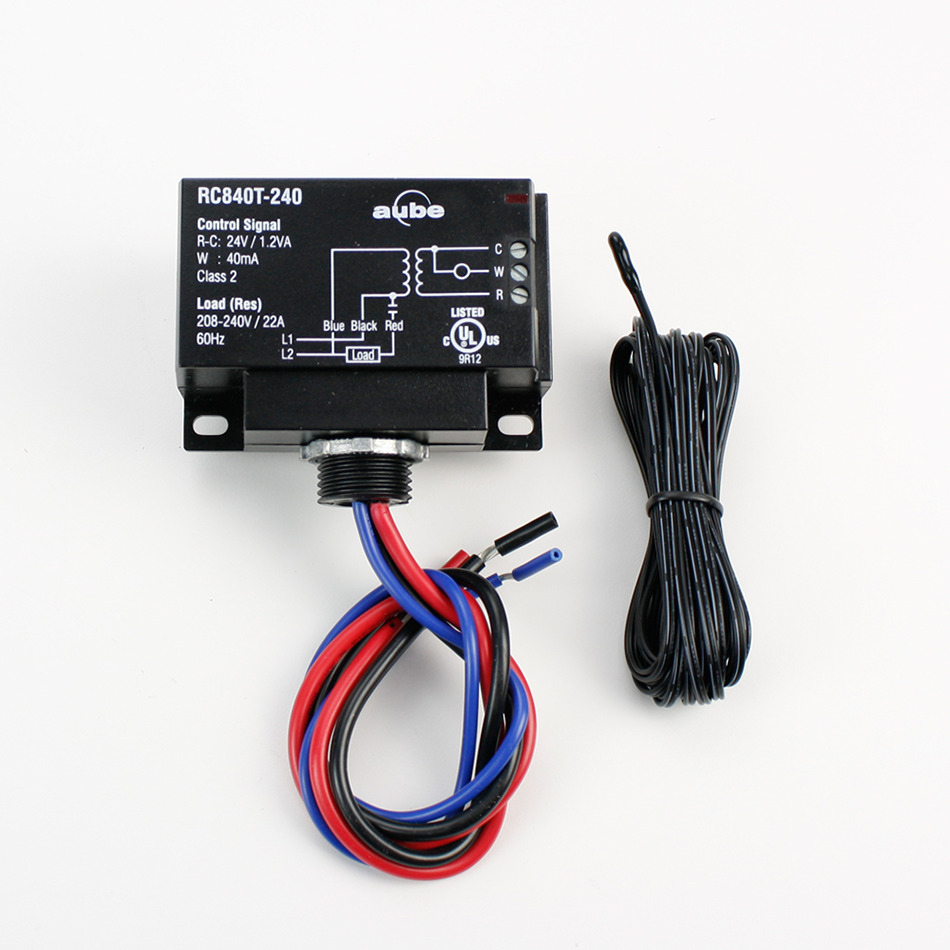 Third Party Control Integration   Relay With Built-In Transformer - Nest Thermostat Wiring Diagram For Radiant Heat And Slab Sensor