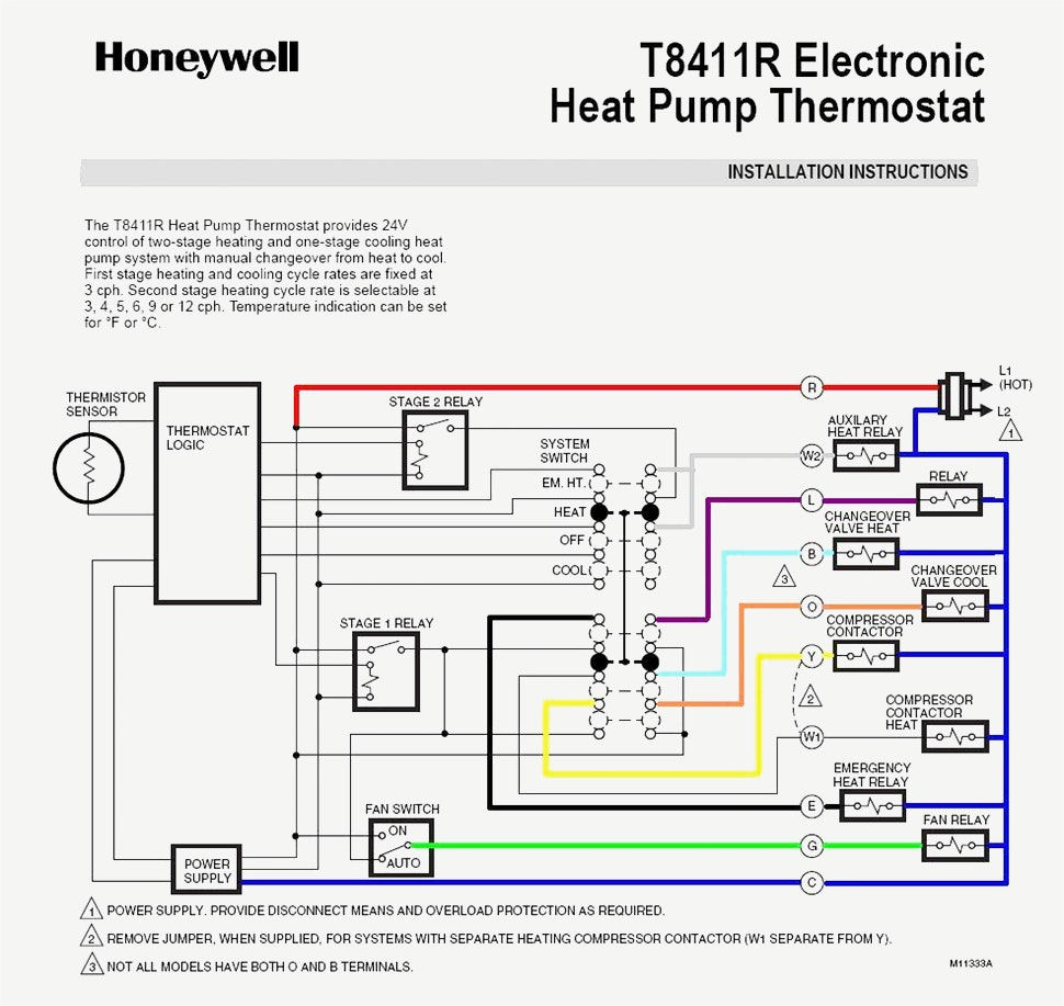Trane Thermostat Wiring Diagram | Wiring Diagram - Nest Thermostat Wiring Diagram For 2 Stage Cooling 2 Stages Heat