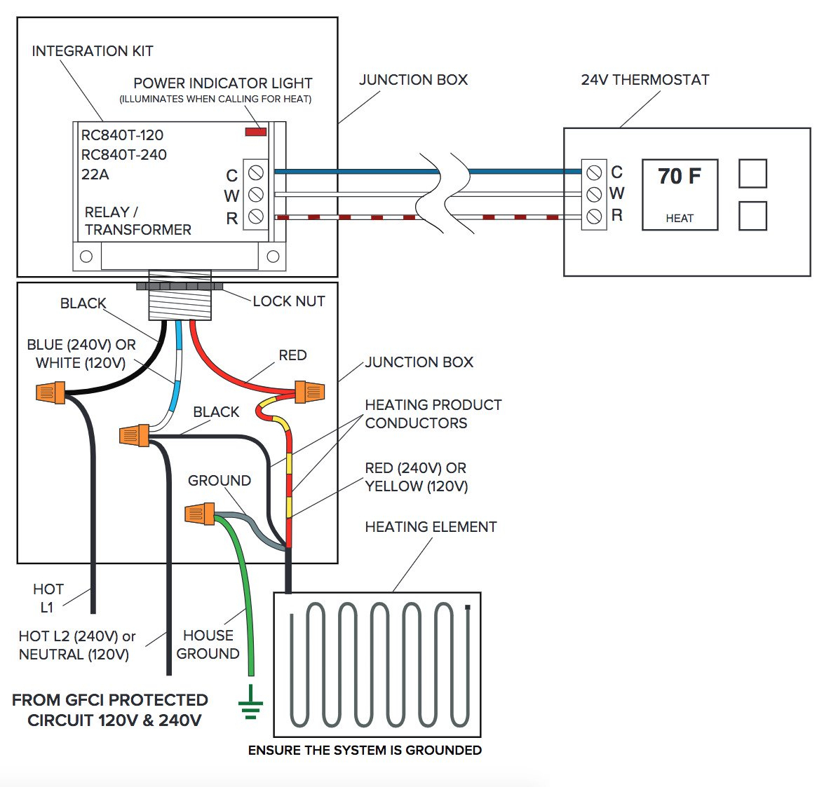 Transformer And Relay Wiring Diagram Thermostat | Wiring Library - Nest Thermostat Wiring Diagram With Aube Transformer And Relay For Swamp Cooler