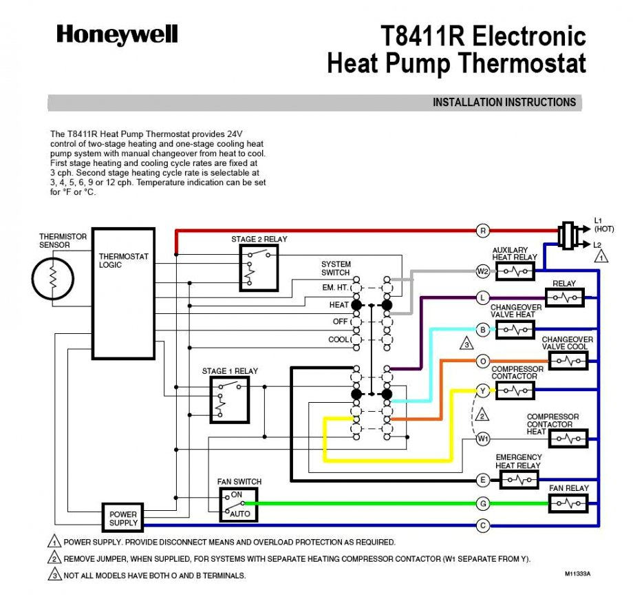Heat Pump With Nest Wiring Diagram