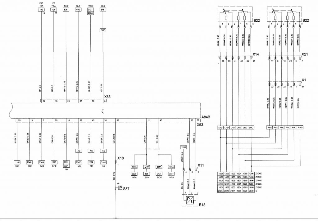 Vauxhall Cdr 2005 Wiring Diagram