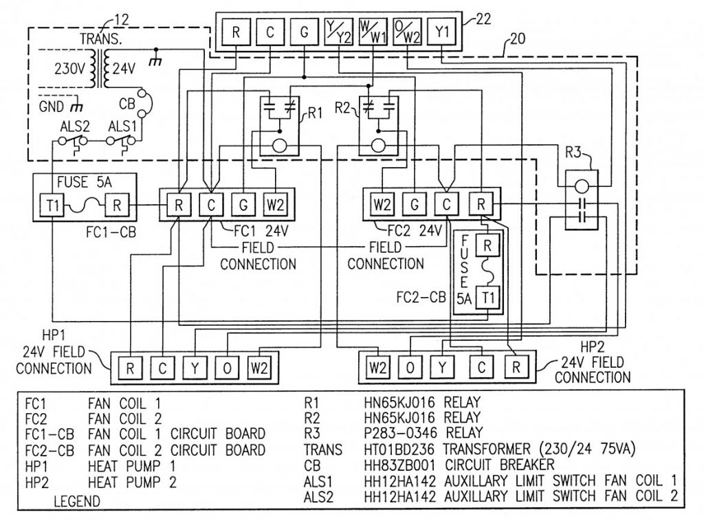 W 2 Wire Thermostat Wiring Diagram Carrier