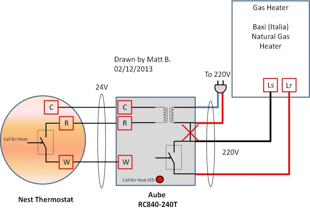Wiring Diagram For Nest Thermostat Uk
