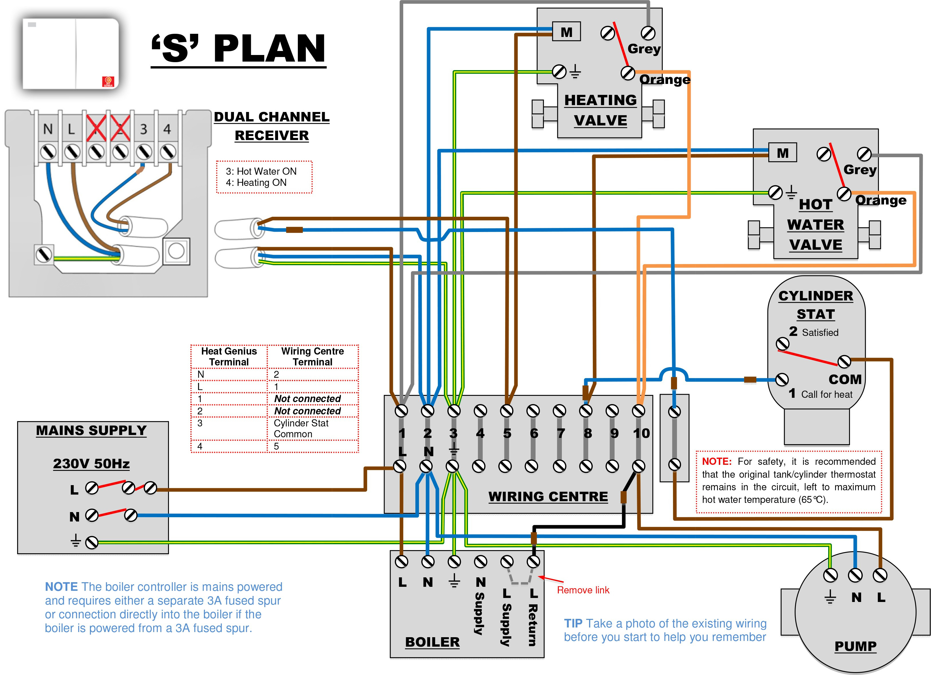 Wiring Diagrams For Nest Thermostat | Manual E-Books - Nest Thermostat Wiring Diagram S Plan
