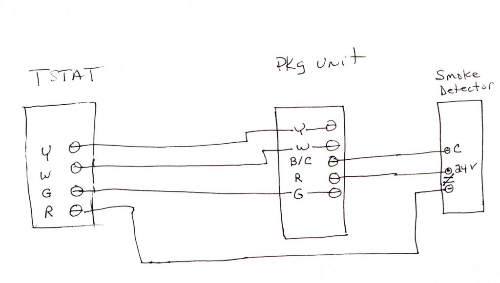 Wiring Diagrams Smoke Detectors