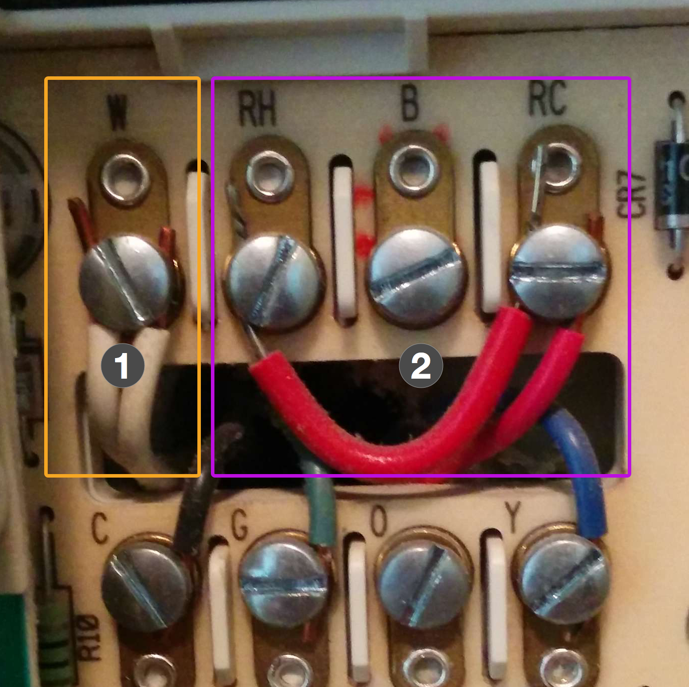 Wiring Up A Nest - Nest Wiring Diagram Brown