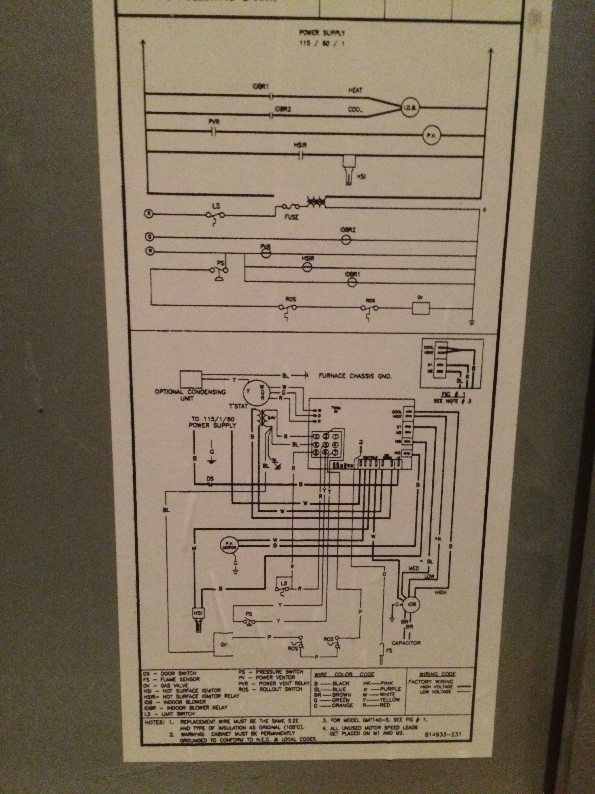 Wiring - Where Do I Connect The C Wire In My Furnace? - Home - Goodman Furnace Thermostat Wiring Diagram Nest