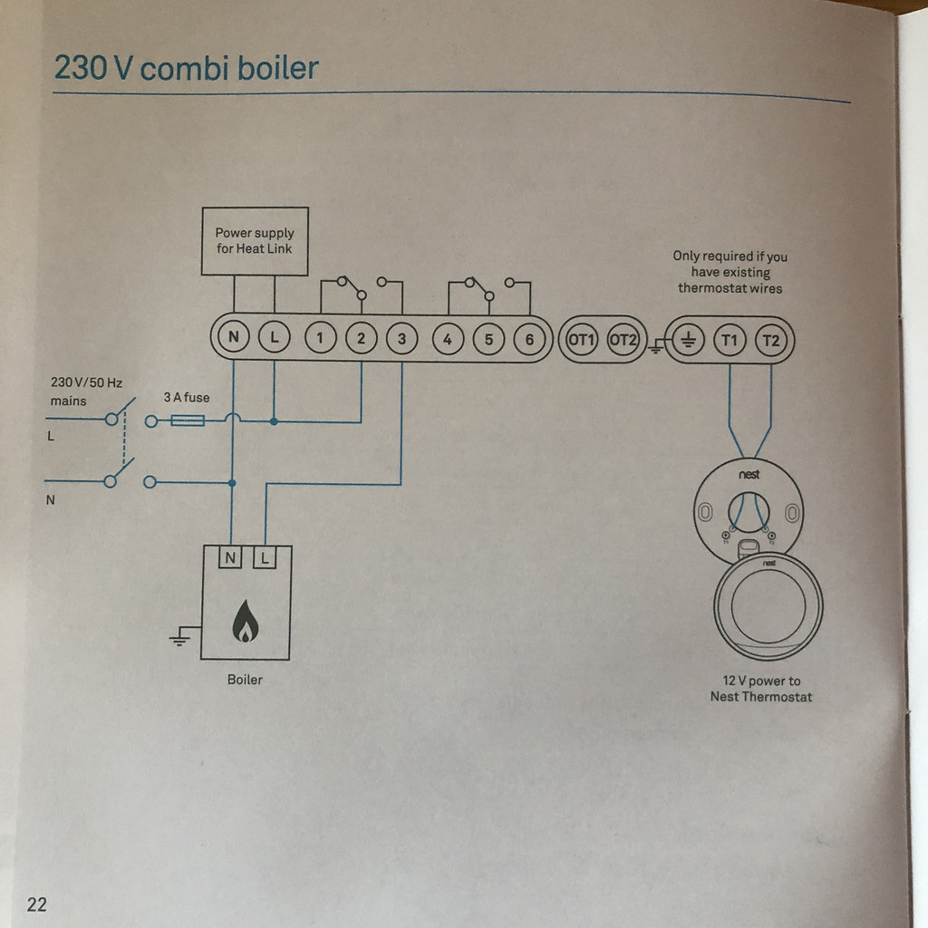 Www.ultimatehandyman.co.uk • View Topic - Wiring Nest Thermostat To - Nest Wiring Diagram Combi Boiler