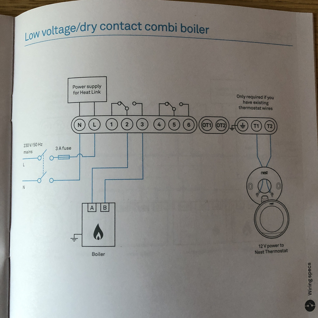Www.ultimatehandyman.co.uk • View Topic - Wiring Nest Thermostat To - Nest Wiring Diagram Uk Combi