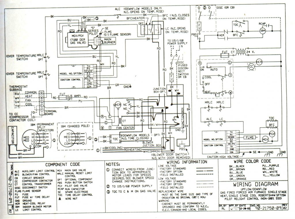 york heat pump schematic
